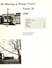 Page 7, 1968 Edition, Portage Central High School - Roundup Yearbook (Portage, MI) online yearbook collection