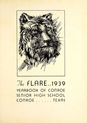 Page 5, 1939 Edition, Conroe High School - Flare Yearbook (Conroe, TX) online yearbook collection