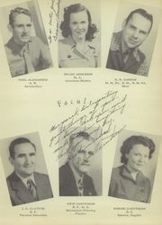 Page 17, 1948 Edition, Conroe High School - Flare Yearbook (Conroe, TX) online yearbook collection