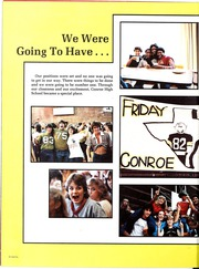 Page 12, 1983 Edition, Conroe High School - Flare Yearbook (Conroe, TX) online yearbook collection
