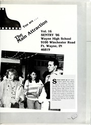 Page 5, 1987 Edition, Wayne High School - Sentry Yearbook (Fort Wayne, IN) online yearbook collection
