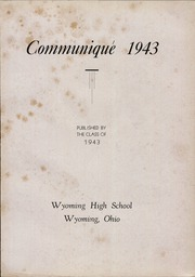 Page 13, 1943 Edition, Wyoming High School - Roundup Yearbook (Wyoming, OH) online yearbook collection