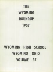 Page 5, 1957 Edition, Wyoming High School - Roundup Yearbook (Wyoming, OH) online yearbook collection