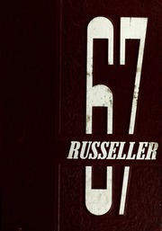 1967 Edition, Russellville High School - Russeller Yearbook (Russellville, IN)