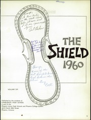 Page 9, 1960 Edition, Camelback High School - Shield Yearbook (Phoenix, AZ) online yearbook collection