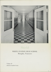 Page 5, 1960 Edition, White Station High School - Shield Yearbook (Memphis, TN) online yearbook collection