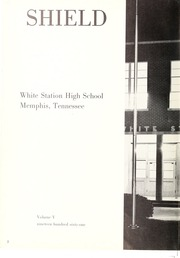 Page 6, 1961 Edition, White Station High School - Shield Yearbook (Memphis, TN) online yearbook collection