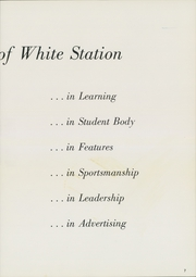 Page 11, 1962 Edition, White Station High School - Shield Yearbook (Memphis, TN) online yearbook collection