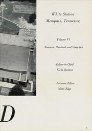 Page 7, 1962 Edition, White Station High School - Shield Yearbook (Memphis, TN) online yearbook collection