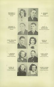 Page 12, 1940 Edition, Muskegon High School - Said and Done Yearbook (Muskegon, MI) online yearbook collection