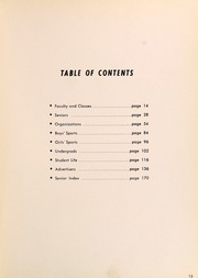 Page 15, 1952 Edition, Muskegon High School - Said and Done Yearbook (Muskegon, MI) online yearbook collection