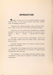 Page 6, 1952 Edition, Muskegon High School - Said and Done Yearbook (Muskegon, MI) online yearbook collection