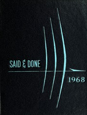 Muskegon High School - Said and Done Yearbook (Muskegon, MI) online yearbook collection, 1968 Edition, Page 1