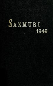 Page 1, 1949 Edition, Jackson Township School - Saxmuri Yearbook (Roanoke, IN) online yearbook collection
