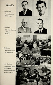 Page 13, 1949 Edition, Jackson Township School - Saxmuri Yearbook (Roanoke, IN) online yearbook collection
