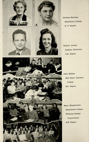 Page 14, 1949 Edition, Jackson Township School - Saxmuri Yearbook (Roanoke, IN) online yearbook collection