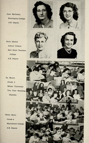 Page 15, 1949 Edition, Jackson Township School - Saxmuri Yearbook (Roanoke, IN) online yearbook collection