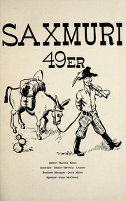 Page 5, 1949 Edition, Jackson Township School - Saxmuri Yearbook (Roanoke, IN) online yearbook collection
