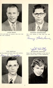 Page 11, 1952 Edition, Jackson Township School - Saxmuri Yearbook (Roanoke, IN) online yearbook collection