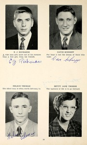 Page 14, 1952 Edition, Jackson Township School - Saxmuri Yearbook (Roanoke, IN) online yearbook collection