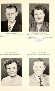 Page 15, 1952 Edition, Jackson Township School - Saxmuri Yearbook (Roanoke, IN) online yearbook collection