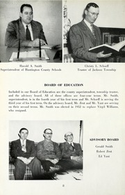 Page 12, 1953 Edition, Jackson Township School - Saxmuri Yearbook (Roanoke, IN) online yearbook collection