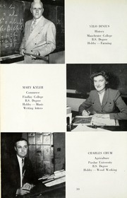 Page 14, 1953 Edition, Jackson Township School - Saxmuri Yearbook (Roanoke, IN) online yearbook collection