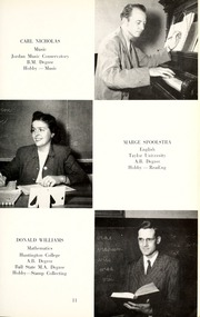 Page 15, 1953 Edition, Jackson Township School - Saxmuri Yearbook (Roanoke, IN) online yearbook collection