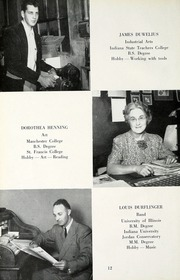 Page 16, 1953 Edition, Jackson Township School - Saxmuri Yearbook (Roanoke, IN) online yearbook collection