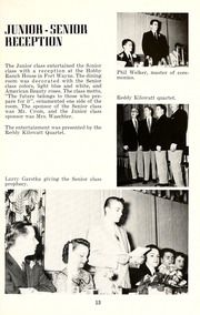 Page 17, 1957 Edition, Jackson Township School - Saxmuri Yearbook (Roanoke, IN) online yearbook collection