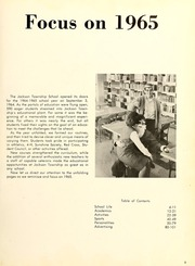 Page 7, 1965 Edition, Jackson Township School - Saxmuri Yearbook (Roanoke, IN) online yearbook collection