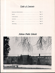 Page 7, 1962 Edition, Hebron High School - Seneca Yearbook (Hebron, IN) online yearbook collection