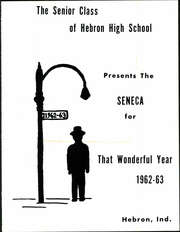 Page 9, 1963 Edition, Hebron High School - Seneca Yearbook (Hebron, IN) online yearbook collection
