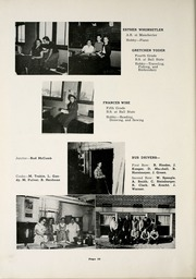 Page 14, 1953 Edition, Huntertown High School - Citadel Yearbook (Huntertown, IN) online yearbook collection