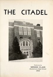 Page 5, 1953 Edition, Huntertown High School - Citadel Yearbook (Huntertown, IN) online yearbook collection
