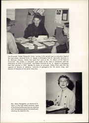 Page 9, 1959 Edition, St Johns High School - Crest Yearbook (Delphos, OH) online yearbook collection