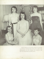 Page 10, 1953 Edition, Connersville High School - Cohiscan Yearbook (Connersville, IN) online yearbook collection