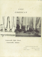 Page 5, 1953 Edition, Connersville High School - Cohiscan Yearbook (Connersville, IN) online yearbook collection