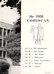 Page 7, 1958 Edition, Connersville High School - Cohiscan Yearbook (Connersville, IN) online yearbook collection