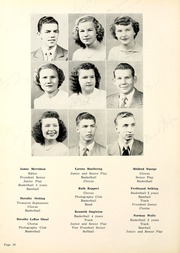 Page 14, 1950 Edition, Monmouth High School - Eagle Yearbook (Decatur, IN) online yearbook collection