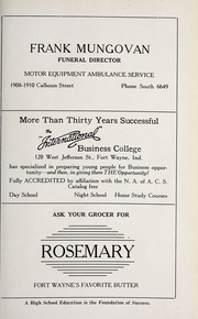 Page 169, 1923 Edition, Central Catholic High School - Echo Yearbook (Fort Wayne, IN) online yearbook collection