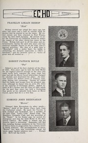 Page 179, 1923 Edition, Central Catholic High School - Echo Yearbook (Fort Wayne, IN) online yearbook collection