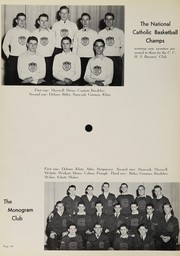 Page 46, 1939 Edition, Central Catholic High School - Echo Yearbook (Fort Wayne, IN) online yearbook collection