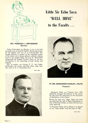 Page 12, 1950 Edition, Central Catholic High School - Echo Yearbook (Fort Wayne, IN) online yearbook collection