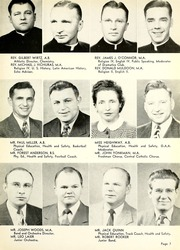 Page 13, 1950 Edition, Central Catholic High School - Echo Yearbook (Fort Wayne, IN) online yearbook collection
