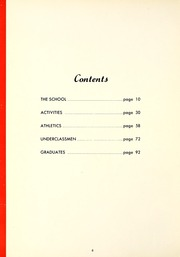 Page 10, 1952 Edition, Central Catholic High School - Echo Yearbook (Fort Wayne, IN) online yearbook collection