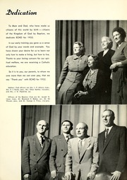 Page 11, 1952 Edition, Central Catholic High School - Echo Yearbook (Fort Wayne, IN) online yearbook collection