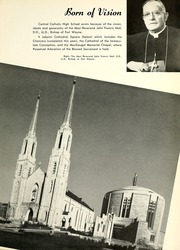 Page 13, 1952 Edition, Central Catholic High School - Echo Yearbook (Fort Wayne, IN) online yearbook collection