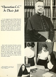 Page 17, 1952 Edition, Central Catholic High School - Echo Yearbook (Fort Wayne, IN) online yearbook collection