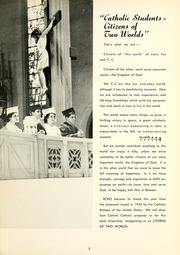 Page 9, 1952 Edition, Central Catholic High School - Echo Yearbook (Fort Wayne, IN) online yearbook collection